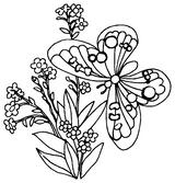Imprimer le coloriage : Papillon, numéro 64890