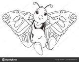 Imprimer le coloriage : Papillon, numéro 95da172e