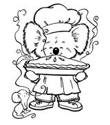 Imprimer le coloriage : Koala, numéro 603435