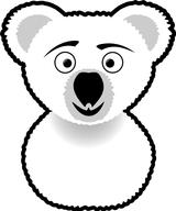 Imprimer le coloriage : Koala, numéro 615021