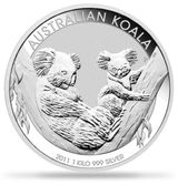 Imprimer le coloriage : Koala, numéro 671583
