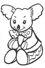 Imprimer le coloriage : Koala, numéro 754162