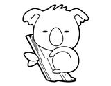 Imprimer le coloriage : Koala, numéro 754163