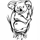 Imprimer le coloriage : Koala, numéro 754165