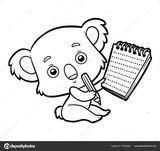Imprimer le coloriage : Koala, numéro b1ea462a