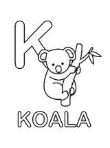 Imprimer le coloriage : Koala, numéro c5712931