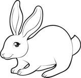 Imprimer le dessin en couleurs : Lapin, numéro 156796
