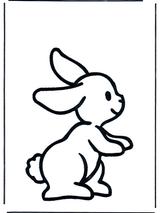Imprimer le dessin en couleurs : Lapin, numéro 165519