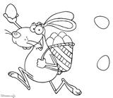 Imprimer le coloriage : Lapin, numéro 67534f09