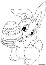 Imprimer le coloriage : Lapin, numéro 724d60e0