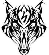 Imprimer le coloriage : Loup, numéro 16834
