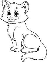 Imprimer le coloriage : Loup, numéro 16843