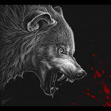 Imprimer le dessin en couleurs : Loup, numéro 22334