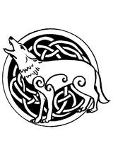Imprimer le coloriage : Loup, numéro 27838