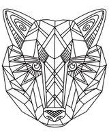 Imprimer le coloriage : Loup, numéro 3ba60f15