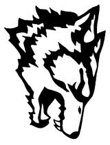 Imprimer le coloriage : Loup, numéro 4004
