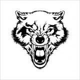Imprimer le coloriage : Loup, numéro 400954