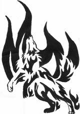 Imprimer le coloriage : Loup, numéro 4015