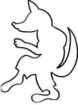 Imprimer le coloriage : Loup numéro 467