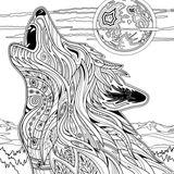 Imprimer le coloriage : Loup, numéro 4be2ac6b
