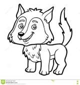 Imprimer le coloriage : Loup, numéro 58341001