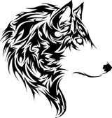 Imprimer le coloriage : Loup, numéro 682675