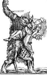 Imprimer le coloriage : Loup, numéro 7810