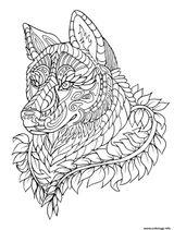 Imprimer le coloriage : Loup, numéro ed68224