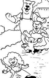 Imprimer le coloriage : Ours, numéro 16996