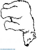 Imprimer le coloriage : Ours, numéro 18000