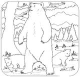 Imprimer le coloriage : Ours, numéro 3656
