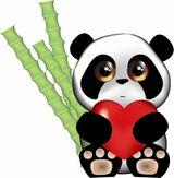 Imprimer le dessin en couleurs : Panda, numéro 108808