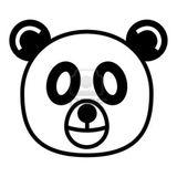 Imprimer le coloriage : Panda, numéro 138761