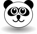 Imprimer le coloriage : Panda, numéro 279482