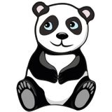 Imprimer le dessin en couleurs : Panda, numéro 286388