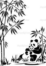 Imprimer le coloriage : Panda, numéro 418764
