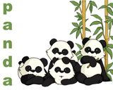 Imprimer le dessin en couleurs : Panda, numéro 452030