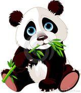 Imprimer le dessin en couleurs : Panda, numéro 455389