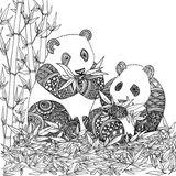 Imprimer le coloriage : Panda, numéro 46dca6d6
