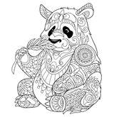 Imprimer le coloriage : Panda, numéro 65d64e6e