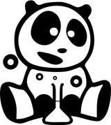 Imprimer le coloriage : Panda, numéro 677214