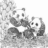 Imprimer le coloriage : Panda, numéro 7ec0a66