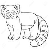 Imprimer le coloriage : Panda, numéro 7f69e638