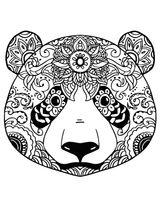 Imprimer le coloriage : Panda, numéro 83cacd4d