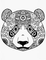 Imprimer le coloriage : Panda, numéro 99b811a