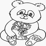 Imprimer le coloriage : Panda, numéro aea3d13d