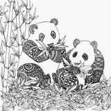 Imprimer le coloriage : Panda, numéro d50940c3