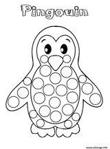 Imprimer le coloriage : Pinguoin, numéro 5c95c160