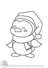 Imprimer le coloriage : Pinguoin, numéro 6aa08adc
