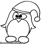 Imprimer le coloriage : Pinguoin, numéro 8ac93287